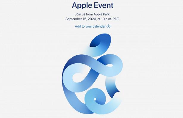 Apple event 15 sep 2020