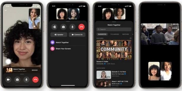 Facebook Messenger video watcch