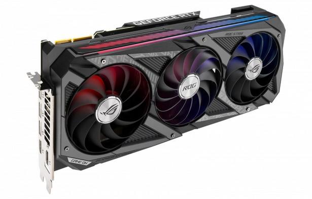 GeForce RTX 3090, GeForce RTX 3080 и GeForce RTX 3070 ROG Strix