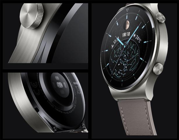 Материалы, используемые в часах Huawei Watch GT 2 Pro