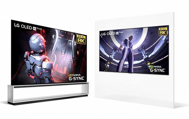LG OLED 8K NVIDIA
