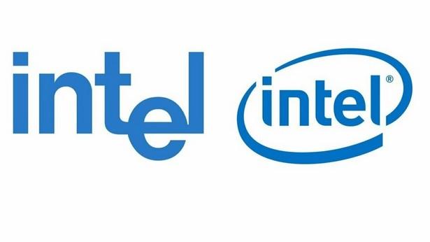 Логотип Intel из 2006 года слева 1968 года справа