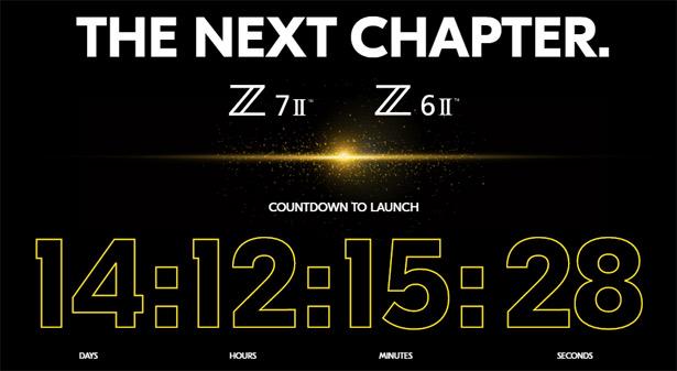 Дата презентации Nikon Z 7 II и Z 6 II
