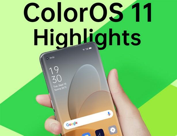 Oppo ColorOS 11