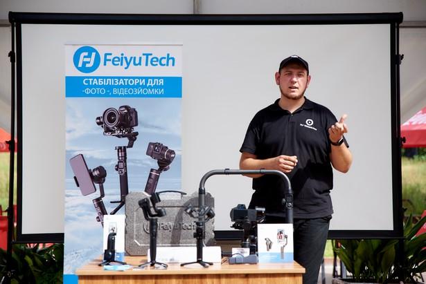 Fly Technology провела презентацию стедикамов FeiyuTech