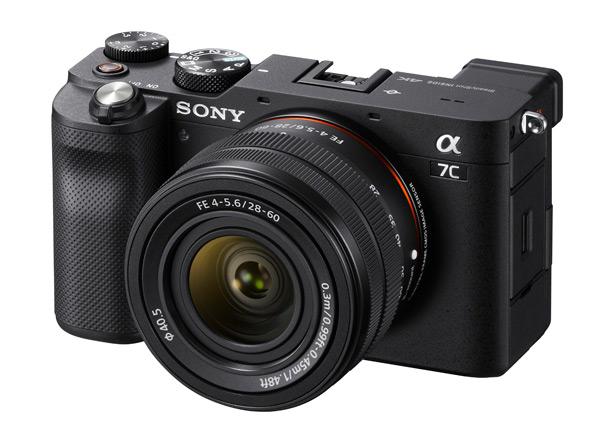 Черная Sony a7C