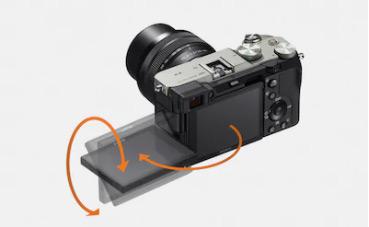 Поворотный экран Sony a7C