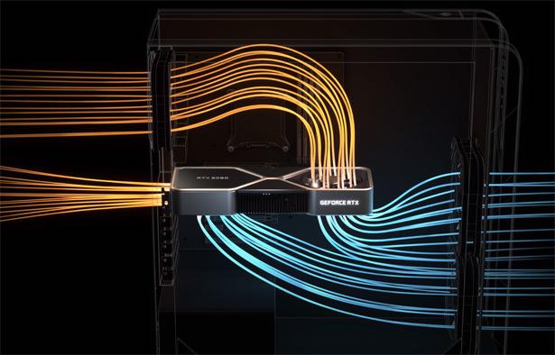Охлаждение NVIDIA GeForce RTX 3080