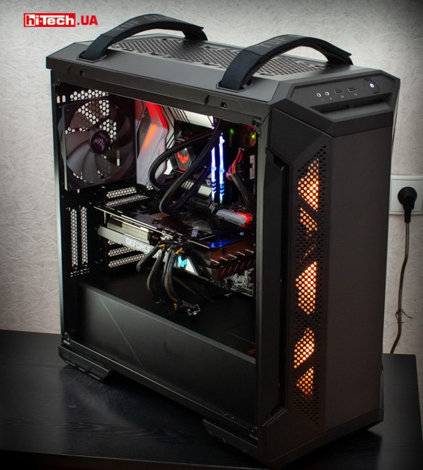 Сборка ASUS TUF Gaming GT501