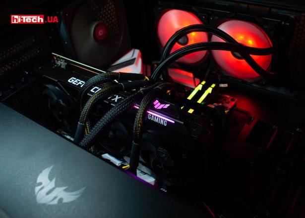Сборка ASUS TUF Gaming GeForce RTX 3080