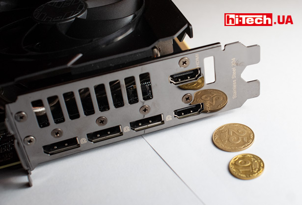 Панель разъемов Видеовыходы Радиатор Радиатор ASUS TUF Gaming GeForce RTX 3080