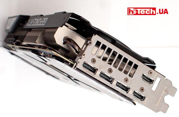 Видеовыходы Радиатор Радиатор ASUS TUF Gaming GeForce RTX 3080