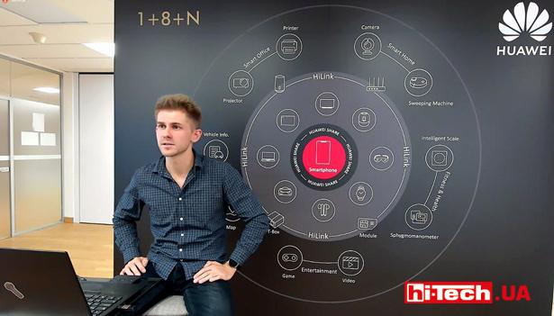 Онлайн-презентация Huawei