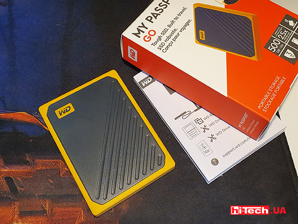 WD My Passport Go 500 GB
