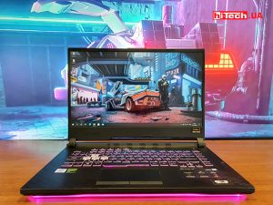 Обзор ноутбука ASUS ROG Strix G512LI: неоновый герой