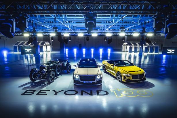Bentley beyond 100 electro