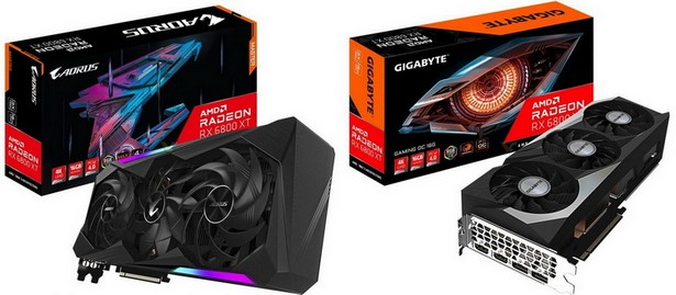 Gigabyte Radeon RX 6800 и RX 6800 XT 1