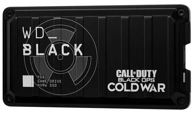 WD_Black Call of Duty Black Ops Cold War Special Edition P50 Game Drive SSD