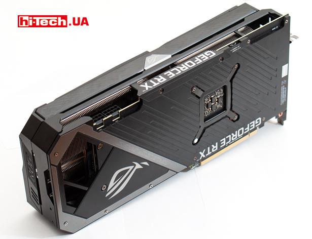 Видеовыходы ASUS ROG Strix GeForce RTX 3070