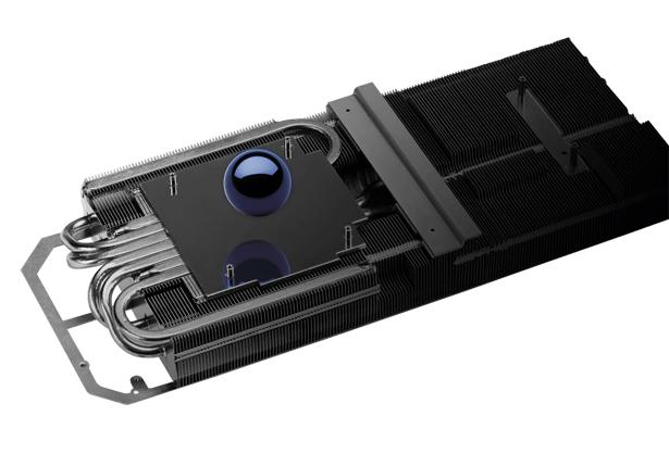 Система охлаждения ASUS ROG Strix GeForce RTX 3070