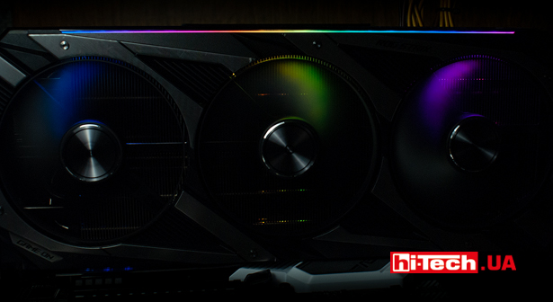 Подсветка ASUS ROG Strix GeForce RTX 3070