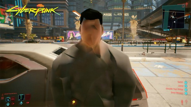 cyberpunk 2077 bug ps4