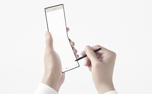 Концепт смартфона-слайдера OPPO nendo