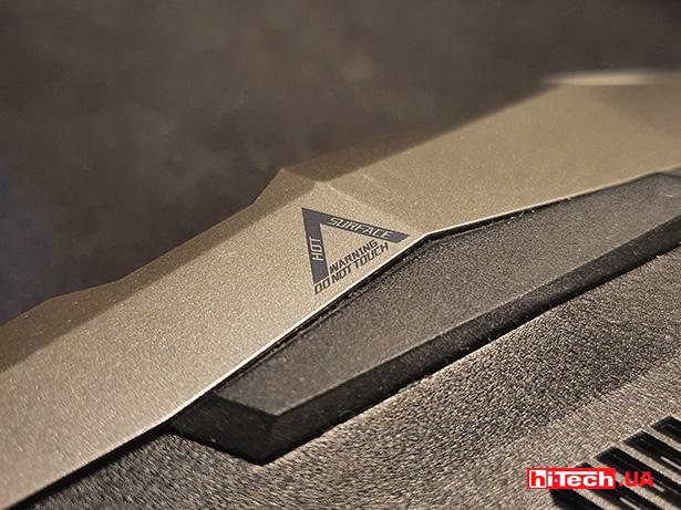 Acer Predator Helios 300 vent