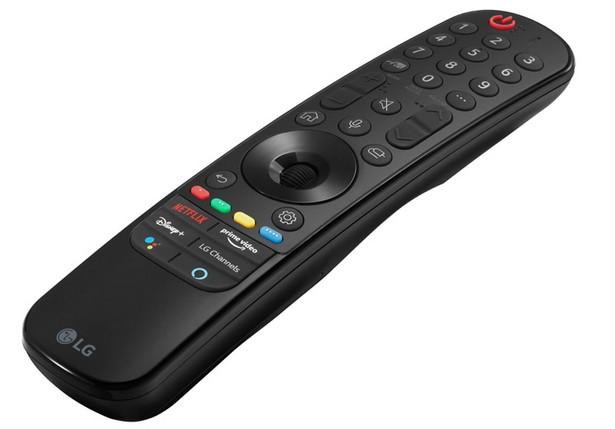 LG TV 2021 remote NFC