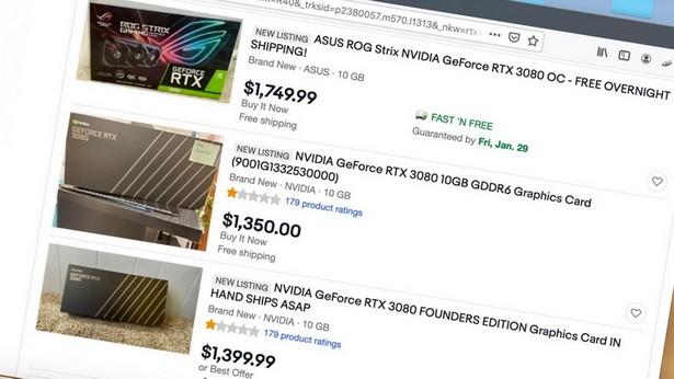 rtx 30 sales ebay