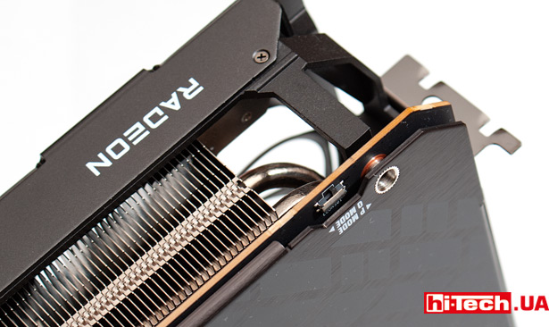 Переключатель BIOS ASUS TUF GAMING Radeon RX 6800