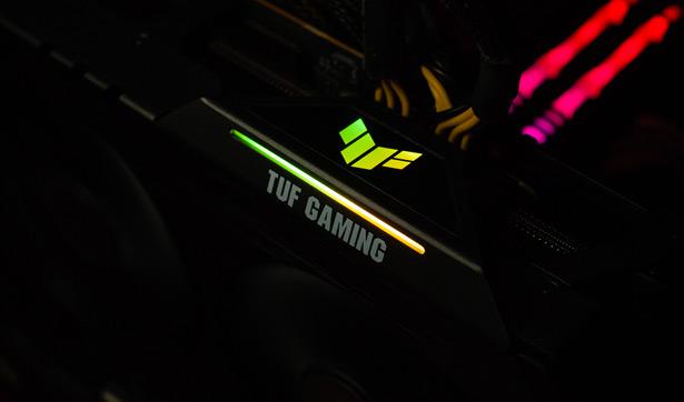 Подсветка ASUS TUF GAMING Radeon RX 6800