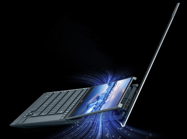 Система охлаждения ASUS ZenBook Duo 14 (UX482)