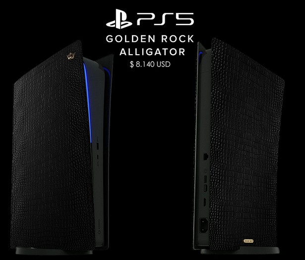 Caviar Sony PlayStation 5 leather