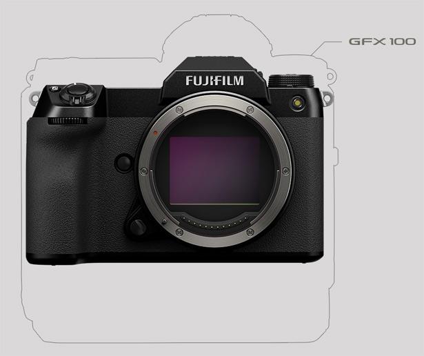 Сравнение размеров Fujifilm GFX100 и новой GFX100S