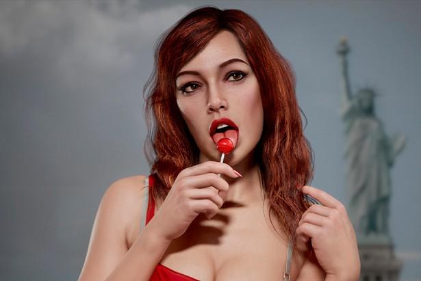 Hossein Diba GTA IV girl