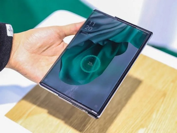 Oppo charging air