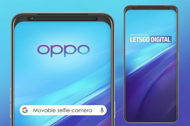 Oppo selfie camera movable