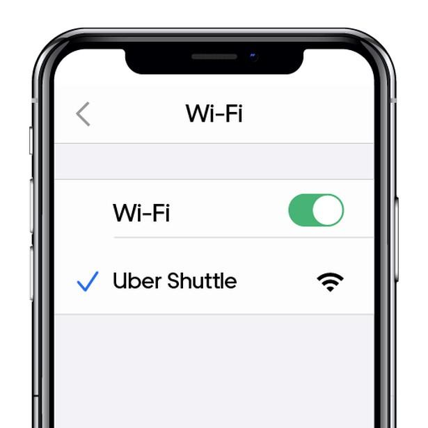 Uber Shuttle Wi-Fi