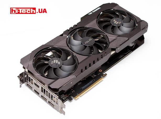 Подсветка ASUS TUF Gaming GeForce RTX 3060 Ti OC Edition