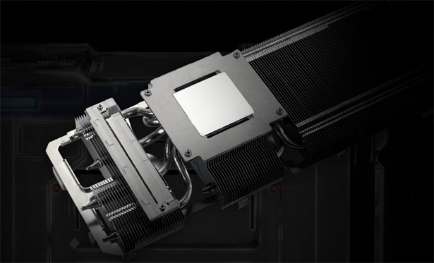 Радиатор ASUS TUF Gaming GeForce RTX 3060 Ti OC Edition