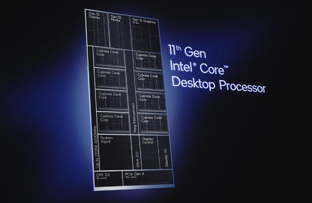 Процессоры Intel Core 11th Gen