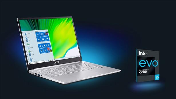 Intel Evo laptops Acer