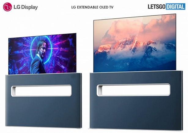 lg extendable oled tv