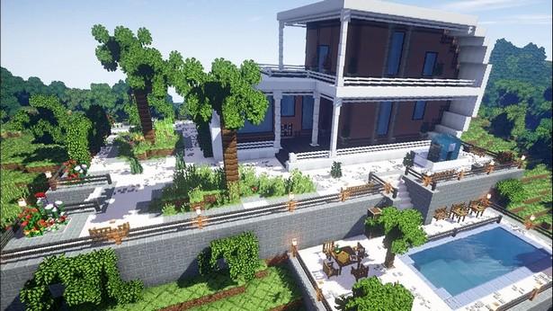 Minecraft дизайнер ландшафт