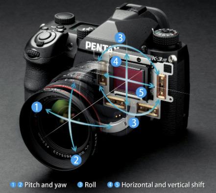 Оптическая стабилизация Pentax K-3 Mark III