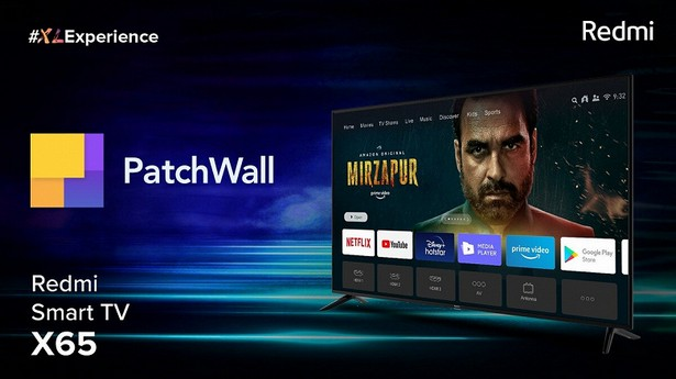 Redmi Smart TV X65 Patch Wall