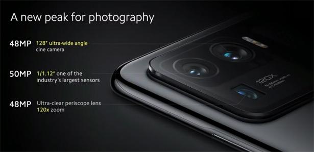 Камеры Xiaomi Mi 11 Ultra