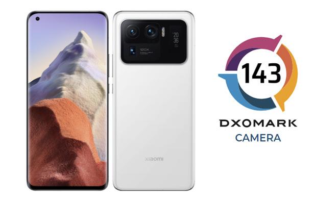 Xiaomi Mi 11 Ultra баллы DXOMARK