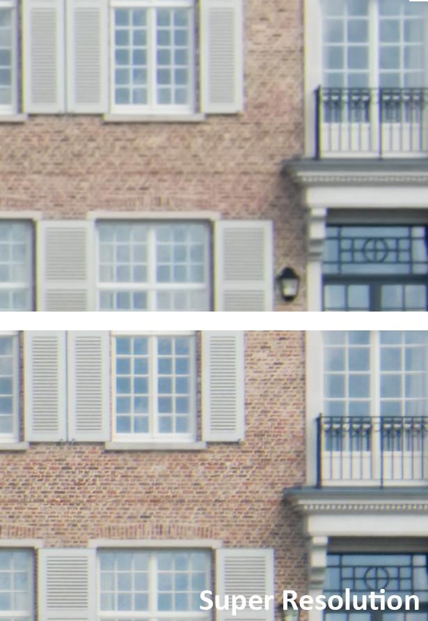 оценка эффекта Super Resolution в Adobe Camera Raw